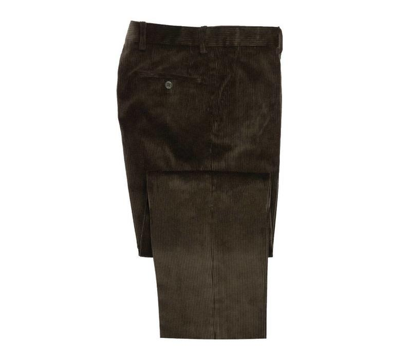 Needlecord Trousers - Brown