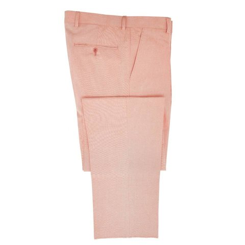 Cotton Trousers - Pale Red