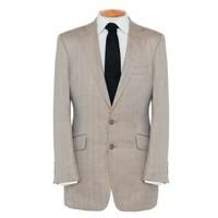 Summer Jacket - Brown Herringbone