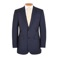Eaton Suit - Navy Prince of Wales - Loro Piana Cloth