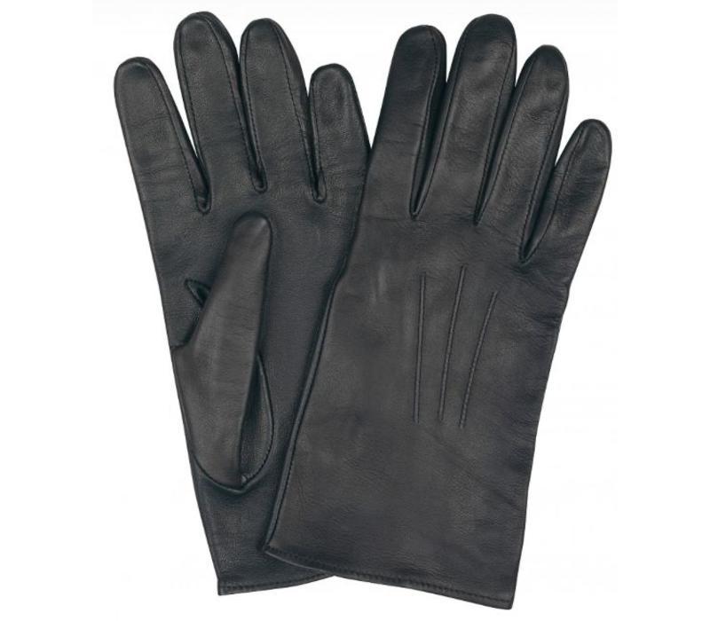 Mens Leather Gloves - Black