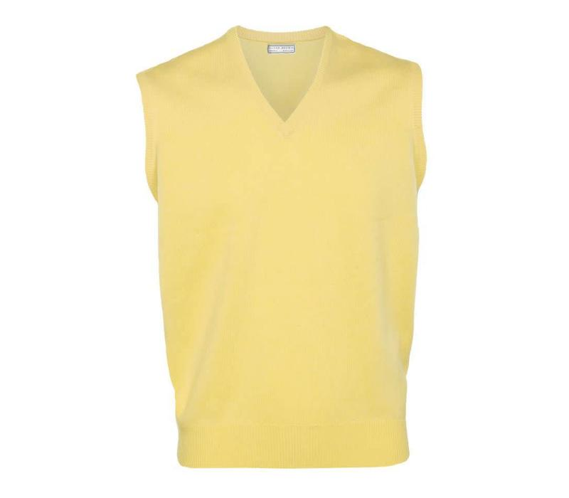 Cashmere Sleeveless Jumpers - Primrose
