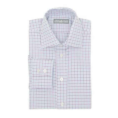 Country Checked Shirt - Lilac/Sky