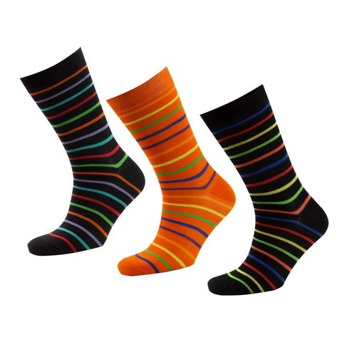 Bamboo Striped Socks Gift Box