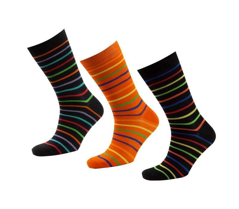 Bamboo Striped Socks Gift Box