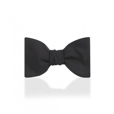 Silk Satin Bow Ties, Self Tie