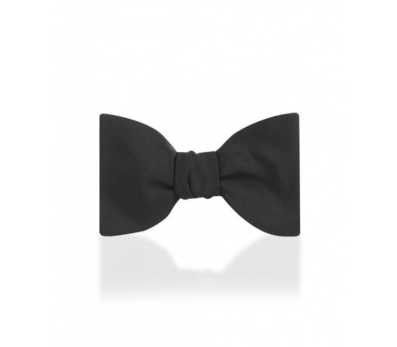 Silk Barathea Bow Tie, Self Tie