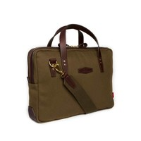 Chapman Bovey Briefcase - Olive