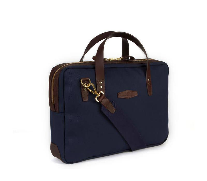 Chapman Bovey Briefcase - Navy
