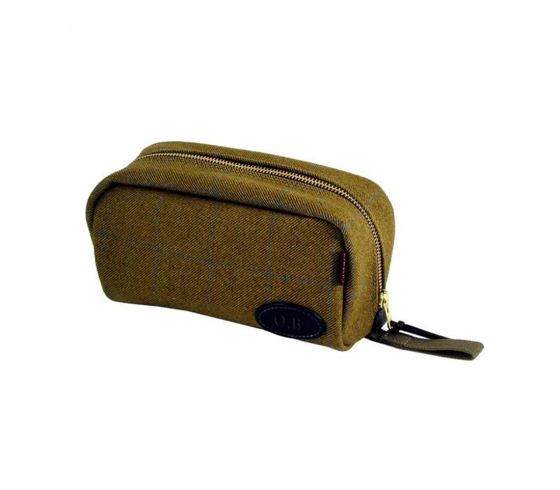 Chapman Wash Bag - Olive Tweed