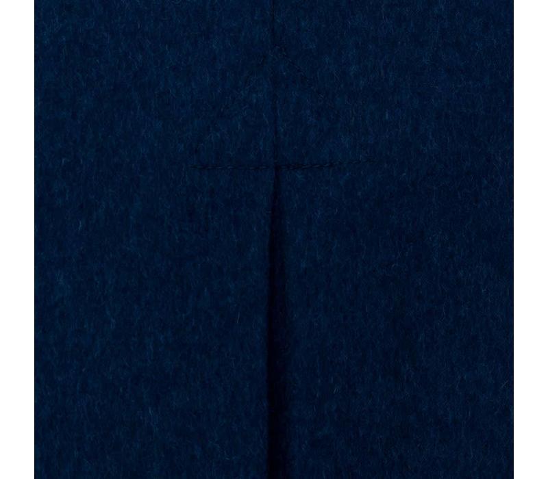 Tyrol Loden Coat - Navy