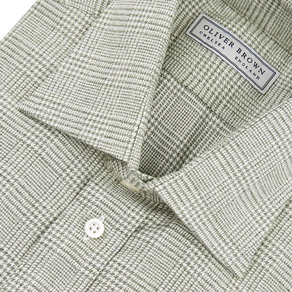 Cashmere Blend Country Shirt b9d9c4c0050