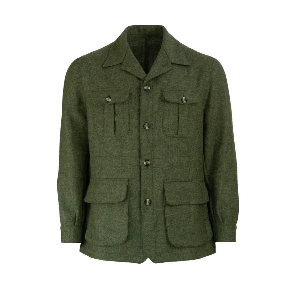 Tweed Hemingway Teba - Green