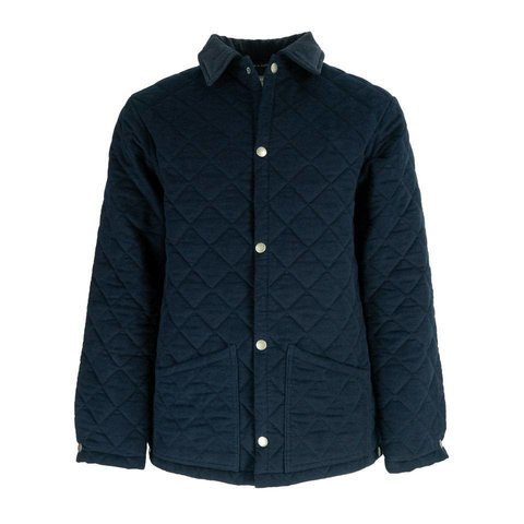 Quilted Moleskin Jackets - Navy