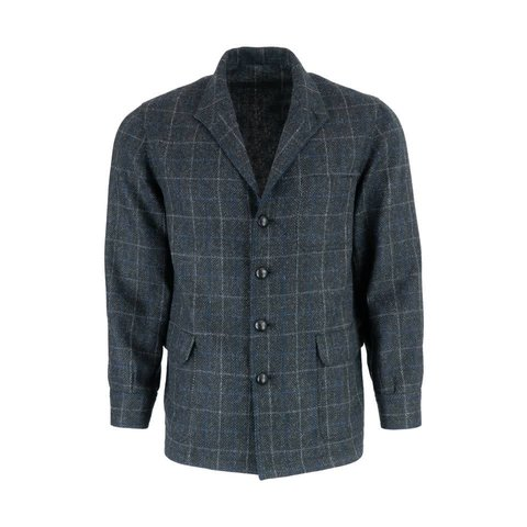 Tweed Teba Jacket - Grey