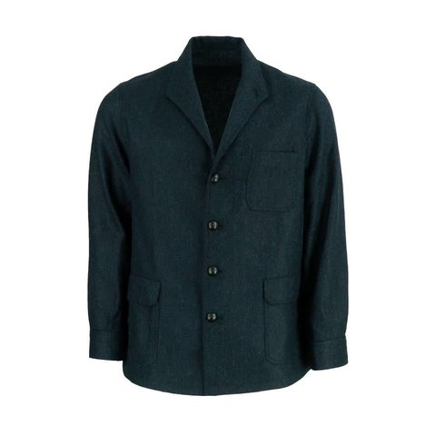 Tweed Teba Jacket - Navy