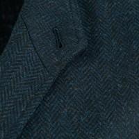 Tweed Teba Jacket - Navy