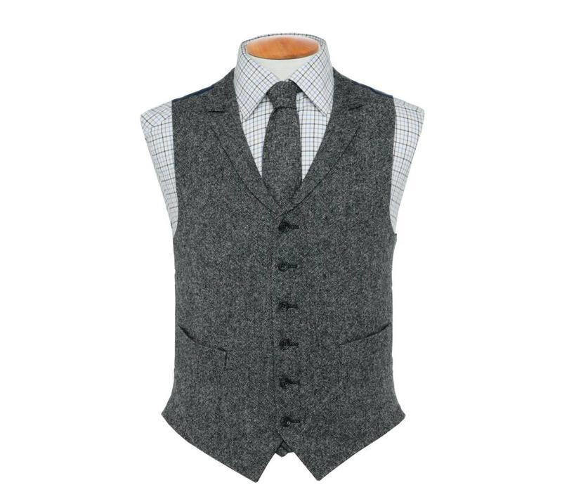 Single Breasted Tweed Waistcoat - TW5, 2016