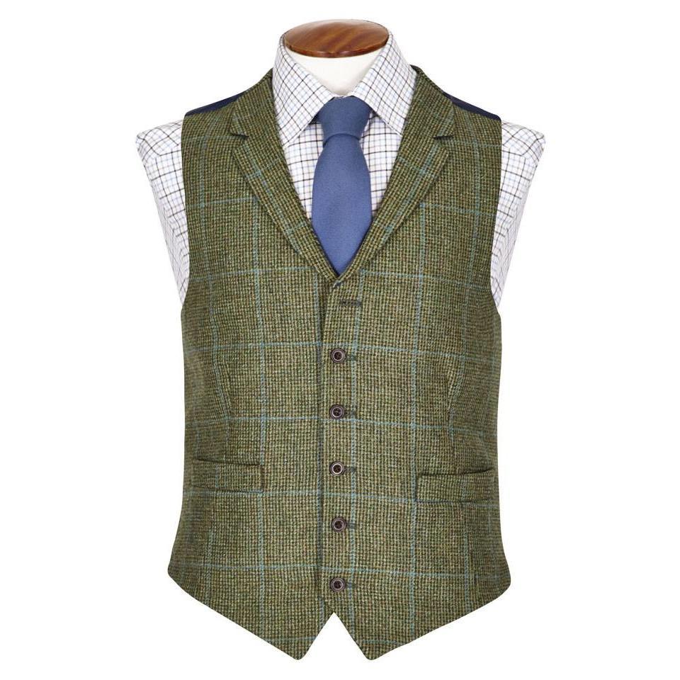 Single Breasted Tweed Waistcoat - TW4, 2015
