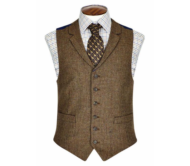 Single Breasted Tweed Waistcoat - TW5, 2015