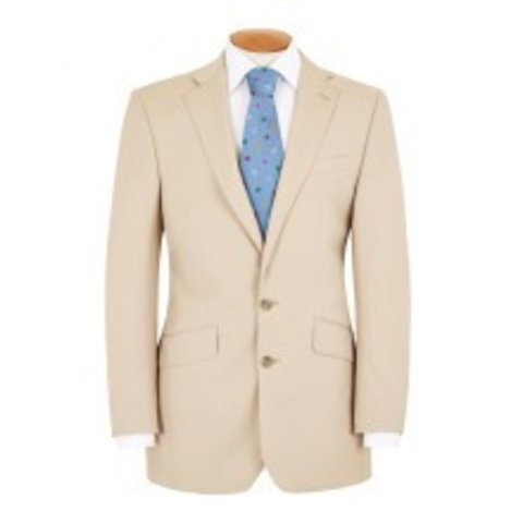 Jacket Beige Gaberdine