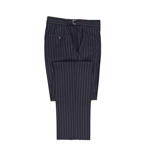 Chalkstripe Suit Trouser - Navy