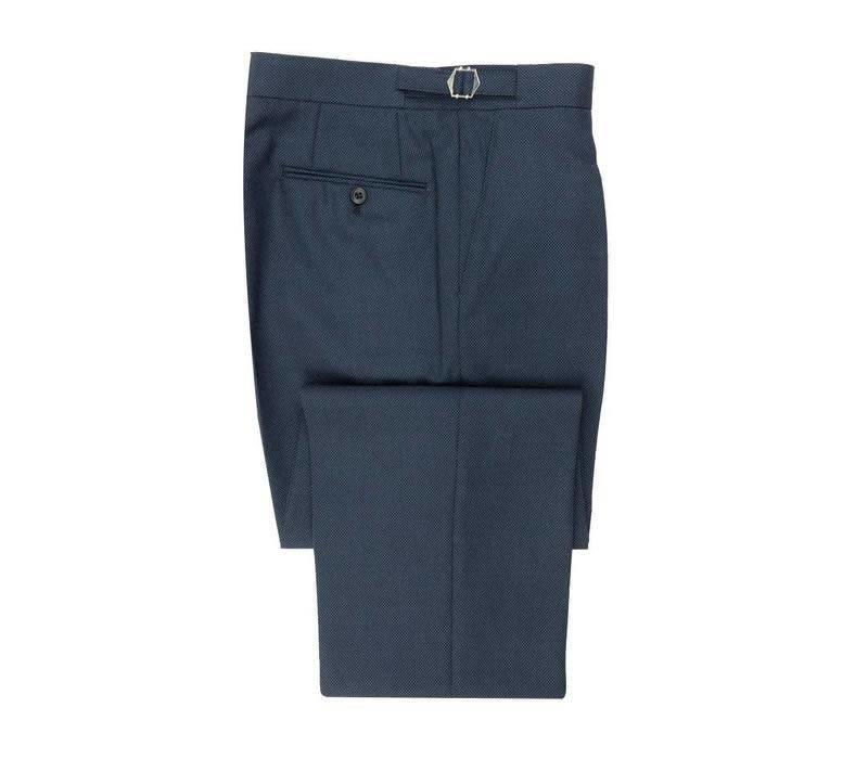 Birdseye Suit Trouser - Navy