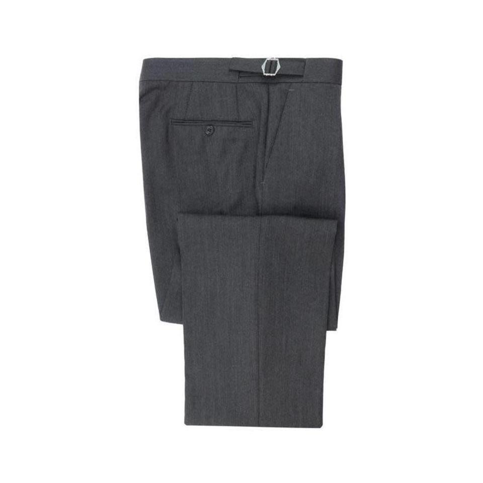 Herringbone Trousers Grey