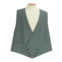 Clearance Double Breasted Waistcoat - Grey