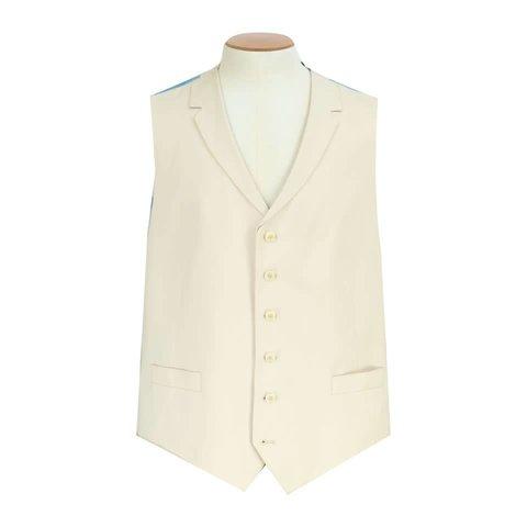 Clearance Beige Gaberdine Waistcoat 40RG