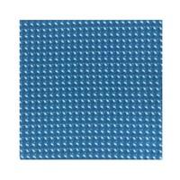 Silk Flamingo Pocket Square -Blue
