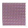 Silk Leopard Pocket Square - Purple