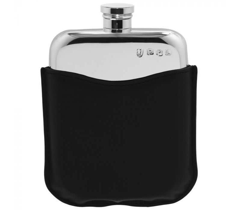 6oz  Hip Flask With Black Pouch
