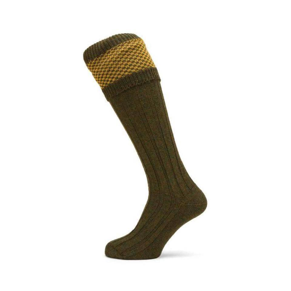 Penrith Shooting Socks - Pollen