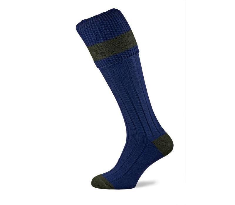 Byron Shooting Socks - Royal Blue