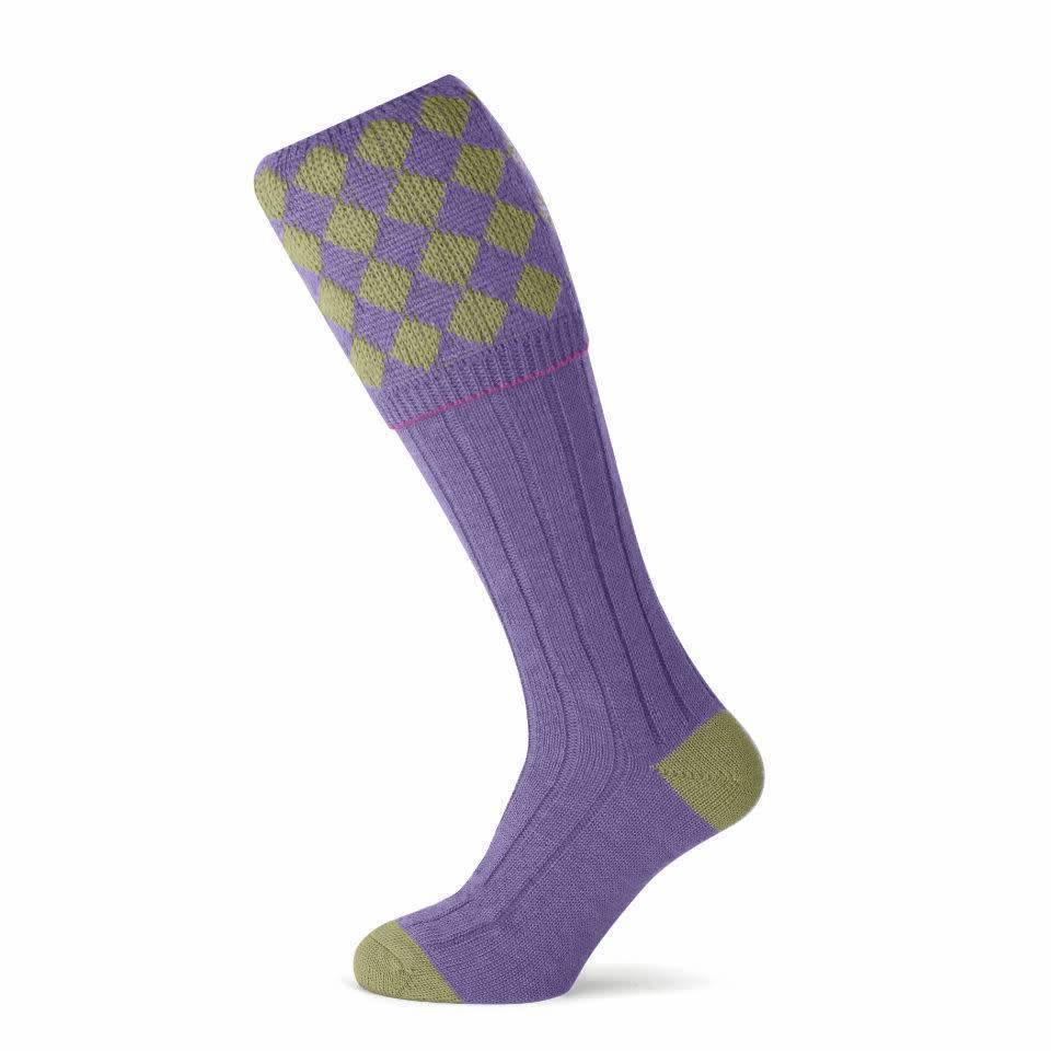 Kendal Shooting Socks - Sage