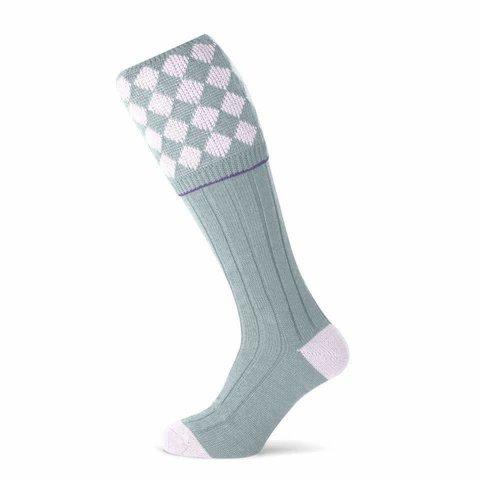 Kendal Shooting Socks - Ice Pink