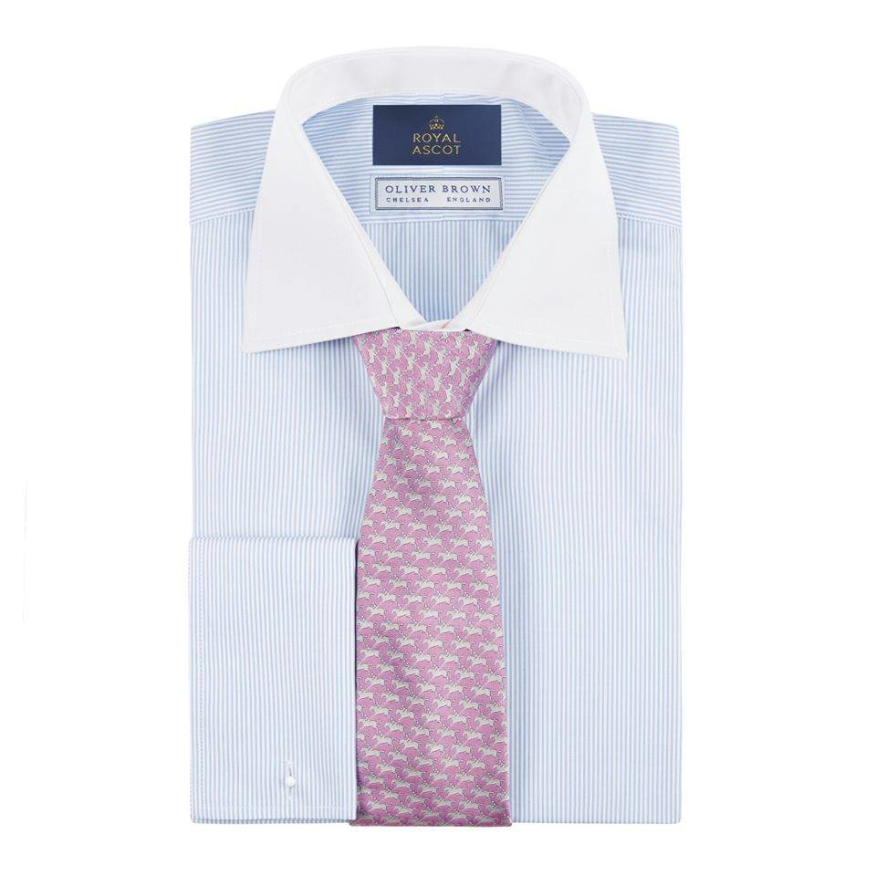 Royal Ascot Shirt - Blue Stripe