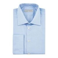 Herringbone City Shirt - Sky Blue