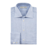 Brushed Cotton Shirt - Blue