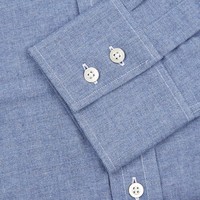 Brushed Cotton Shirt - Denim