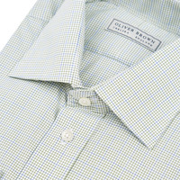 Checked City Shirt - Blue/Green