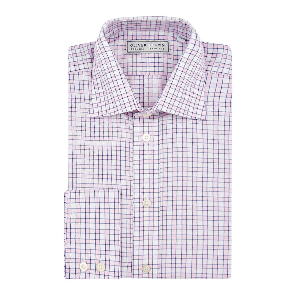 Checked City Shirt - Pink