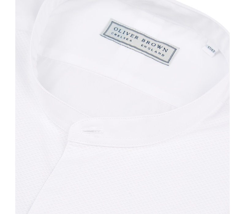 Marcella Dress Shirt, Collarless