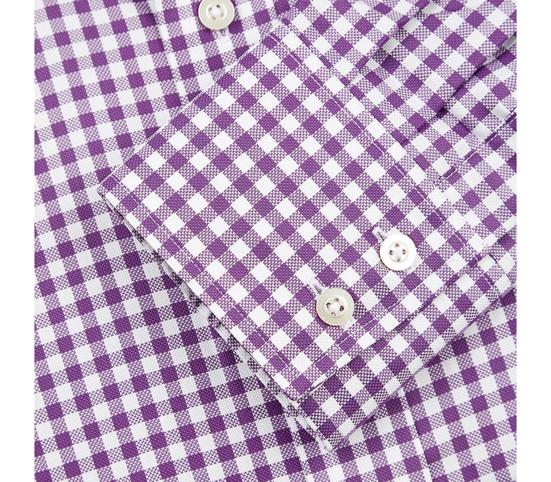 Gingham Shirt - Purple