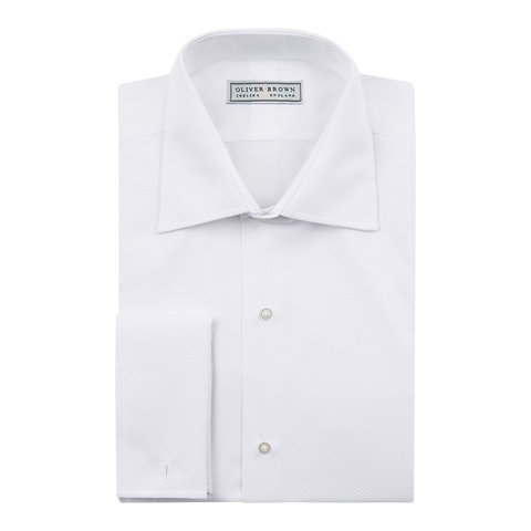Ex-Rental Dress Shirt, Classic Collar
