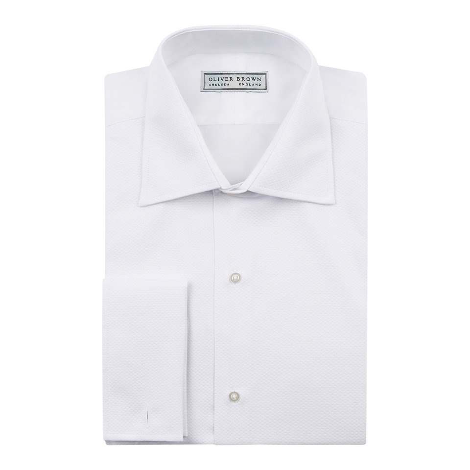 Ex-Rental Dress Shirt - Classic Collar