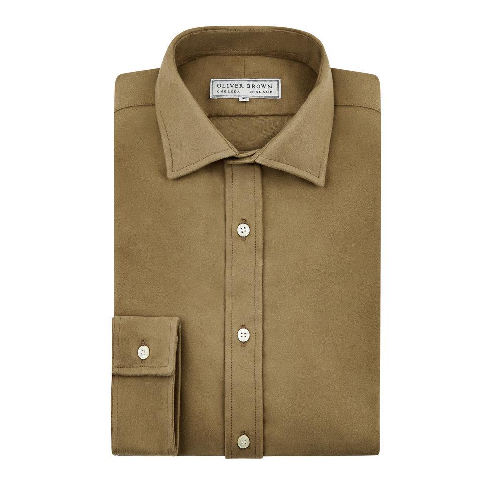 Moleskin Shirt - Stone