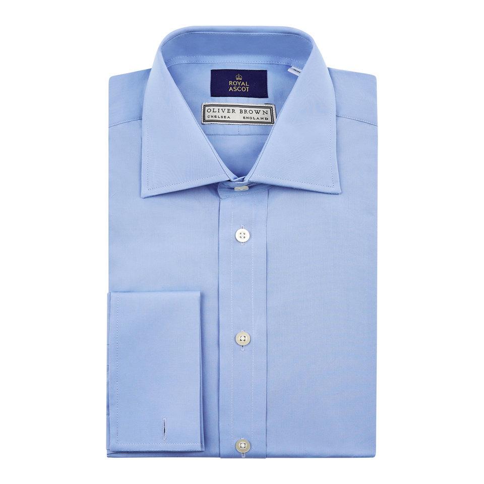Royal Ascot Shirt - Aqua Blue