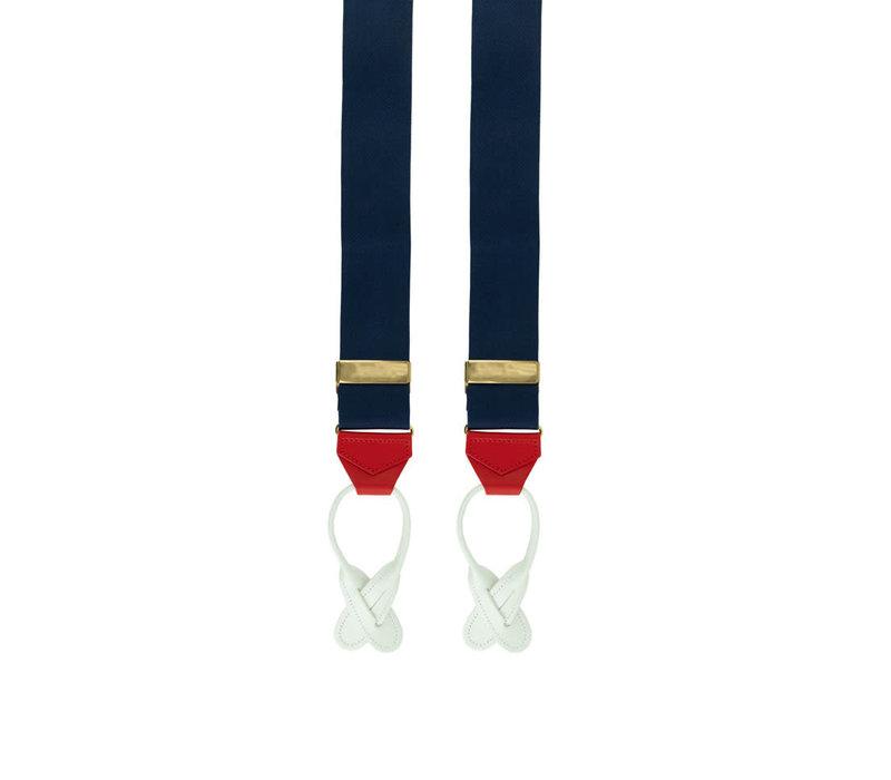 Silk Braces - Red, White, Blue